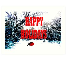 HAPPY HOLIDAYS 23 Art Print