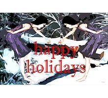 HAPPY HOLIDAYS 30 Photographic Print