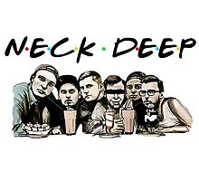 Neck Deep (Friends) Photographic Print