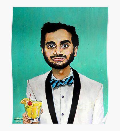 Aziz Ansari Poster