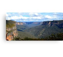 Grose Valley Canvas Print