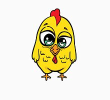 Funny yellow crazy chicken.  Unisex T-Shirt