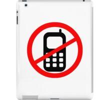Mobile Phone Ban iPad Case/Skin