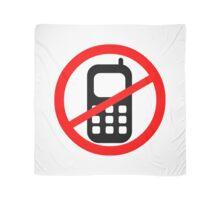 Mobile Phone Ban Scarf
