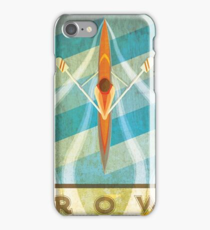 The Serenity of Sculling iPhone Case/Skin