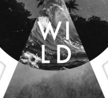 Wildearth (Black) Sticker