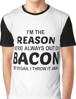 Fuck Bacon Graphic T-Shirt