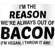 Fuck Bacon Poster