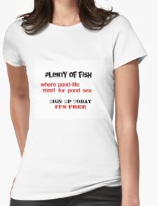' Something Fishy !?! ' Womens Fitted T-Shirt