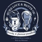 Sure-Lock & Watts-On Consulting by drawsgood