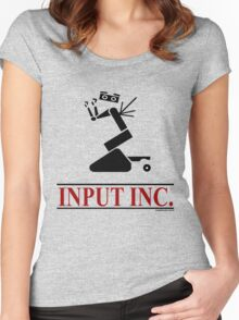 Input Inc Women's Fitted Scoop T-Shirt