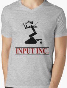 Input Inc Mens V-Neck T-Shirt