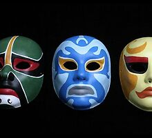 3 ninjas masks by Breaker1985