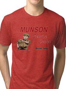 Munson Service Center Tri-blend T-Shirt