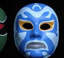 3 ninjas masks Sticker
