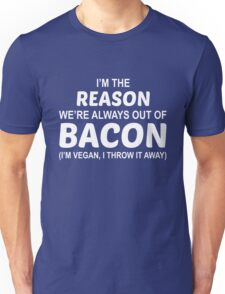 Fuck Bacon Unisex T-Shirt