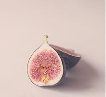Pastel Figs Photographic Print