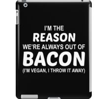 Fuck Bacon iPad Case/Skin