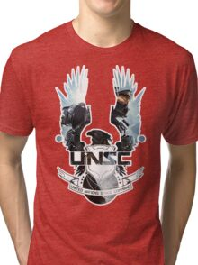 UNSC - Halo 4  Tri-blend T-Shirt