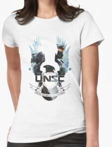 UNSC - Halo 4  Womens Fitted T-Shirt