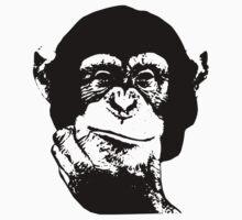 Clever Monkey by bkxxl