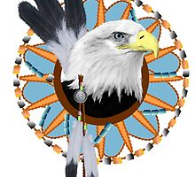 Eagle Dreamcatcher by CarolV