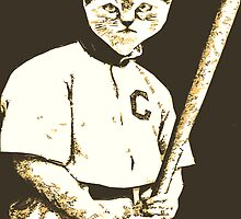 Baseball Cat by Rob Hopper