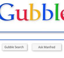 Martian Time-Slip Google Gubble Sticker