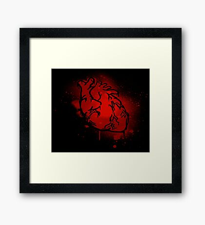 The Heart That Beats Framed Print