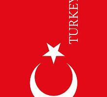 Smartphone Case - Flag of Turkey II by Mark Podger