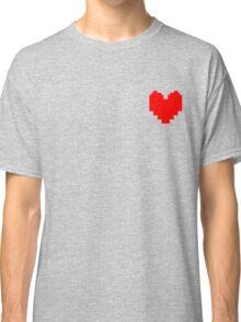Undertale Heart Classic T-Shirt