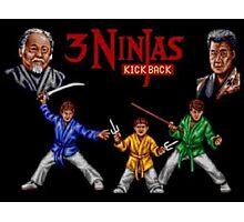 3 ninjas Kick Back, super nintendo Photographic Print