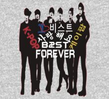 ♥♫I Love B2ST Forever Splendiferous K-Pop Clothes & Stickers♪♥ Kids Clothes