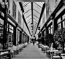 Wyndham Arcade, Cardiff by Paula J James
