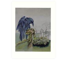 Ravens claw-  Art Print