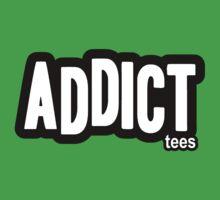Addict Tees by Jared Crockford