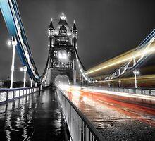 Tower Bridge Lights by Ian Hufton