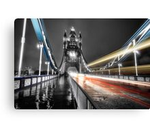 Tower Bridge Lights Canvas Print