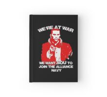 Uncle shepard wants you Hardcover Journal