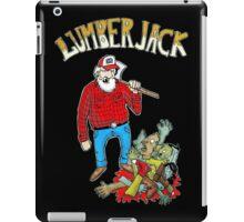 lumberjack vs zombies iPad Case/Skin