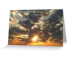 Sunrise on the Inlet Greeting Card
