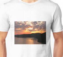 Sunrise Over Saanich Inlet Unisex T-Shirt