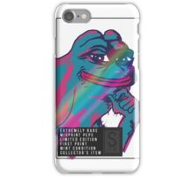 Collector's item Pepe (extremely rare) iPhone Case/Skin