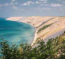 Grand Sable Dune - Lake Superior by Robert Kelch, M.D.
