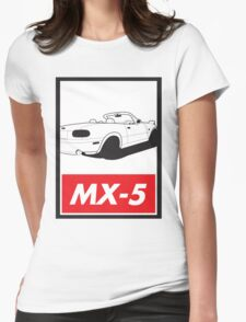 Obey MX-5 Womens Fitted T-Shirt
