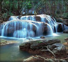 Erawan falls Thailand Calendar by leksele