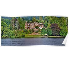 Langdale Chase Hotel, Lake Windermere Poster
