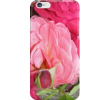 Make Mine Pink Roses 3 iPhone Case/Skin