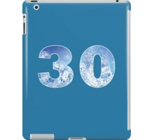 30 (Ice) iPad Case/Skin