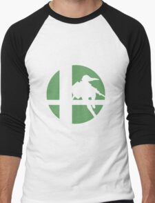 Link - Super Smash Bros. Men's Baseball ¾ T-Shirt